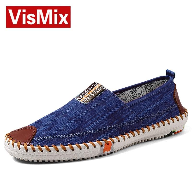 Aliexpress.com Comprar 2016 nuevos Mens zapatos de lona moda Casual verano para hombre zapatos planos clásicos zapatos sin cordones para hombre alpargatas