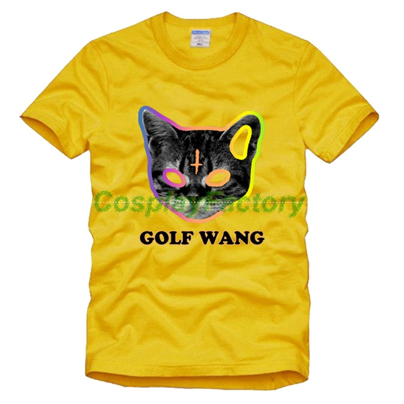 43330359aa92 Free Shipping New ONeck Tshirt Men Odd Future Golf Wang HIPHOP Good Quality  Cosplay Cotton Tees-in T-Shirts from Men s Clothing on Aliexpress.com