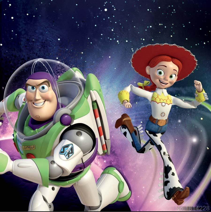 3x5FT Buzz Lightyear Jessie Yodeling Cowgirl Toy Story