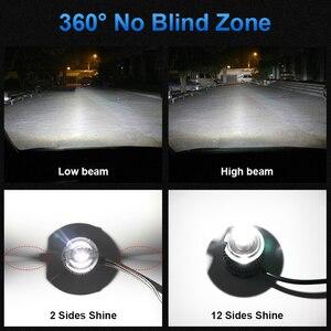 Image 4 - H1 H7 светодиодный H8 H11 HB3 9005 HB4 9006 12 Сторон 3D светодиодный головной светильник s мини высокой мощности 30000LM автомобильный светильник лампы 360 градусов диод для автомобильных фар