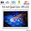 9.6 Polegada Tablet pc Android 5.1 Original 3G Phone Call Android Quad núcleo 2 GB RAM 16 GB ROM WiFi FM LCD IPS 1G + 16G Tablets Pc