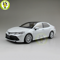 1/18 Toyota New Camry 2018 8th generation Diecast Car Model Toys for kids Children Birthday Gift Collection White