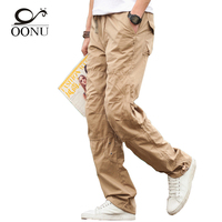 OONU 2017 NEW Summer Thin Men's Cargo Pants Casual Breathable  Baggy  Overalls Trousers For Men Military Camouflage Tactical 501
