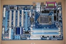 Livraison gratuite origine carte mère pour Gigabyte GA-P55-UD3L P55 Bureau motherborad P55-UD3L LGA 1156 DDR3 16G pour I5 I7 CPU