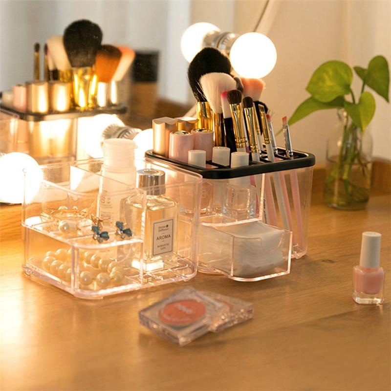 Diy Skin Care: Clear Acrylic DIY Desktop Plastic Acrylic Skin Care