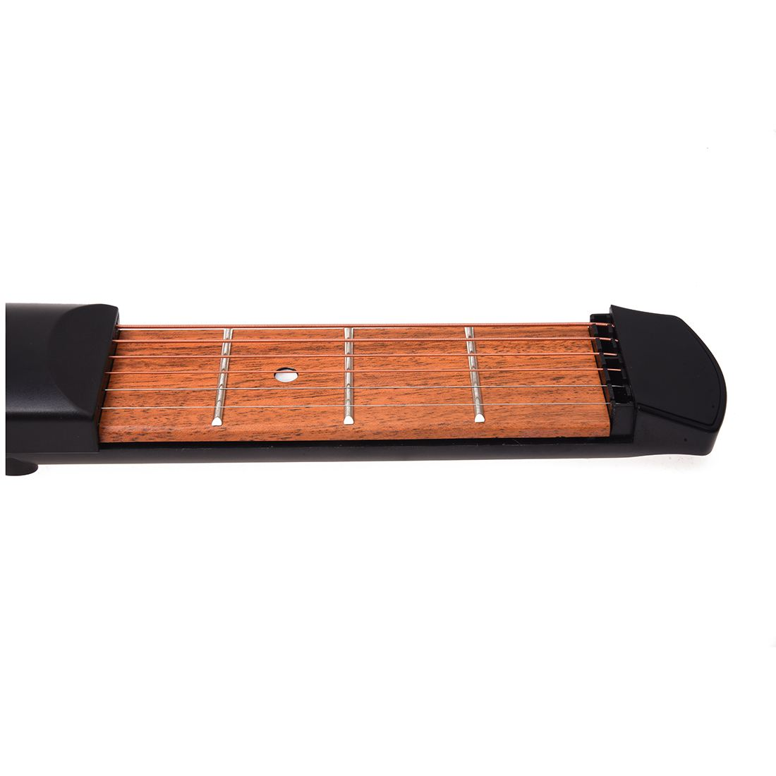 Quality Pocket Strings Guitar Practice Tool Gadget Novice Expert 4 Fret Model Portable Black
