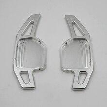 2 Pz/lotto di Alluminio Paddles Al Volante per Audi A3 A4 A4L A5 A6 A7 A8 Q3 Q5 Q7 Tt s3 R8
