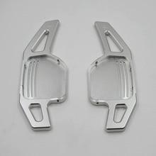 Palas de cambio de volante de aluminio para Audi A3, A4, A4L, A5, A6, A7, A8, Q3, Q5, Q7, TT, S3, R8, 2 unidades por lote