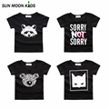 5 Styles  boys girls clothes Children t shirt cotton short sleeve t-shirt cartoon summer boy girl clothing new 2016 girls tops