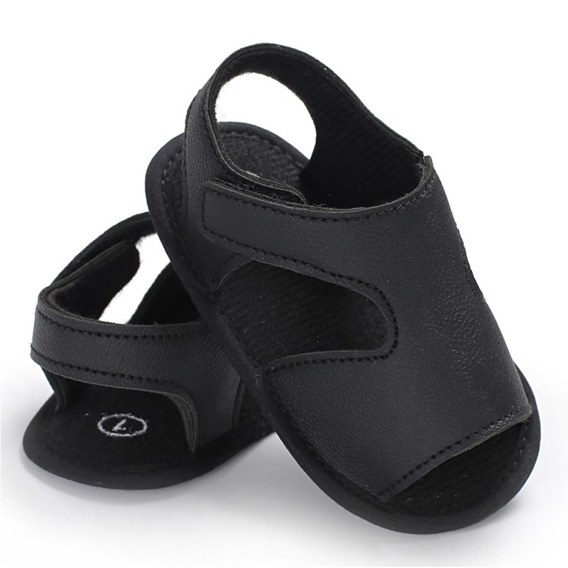 Newborn Baby Boys Shoes Casual Breathable Baby Shoes Slippers Prewalker Crib Shoes Summer