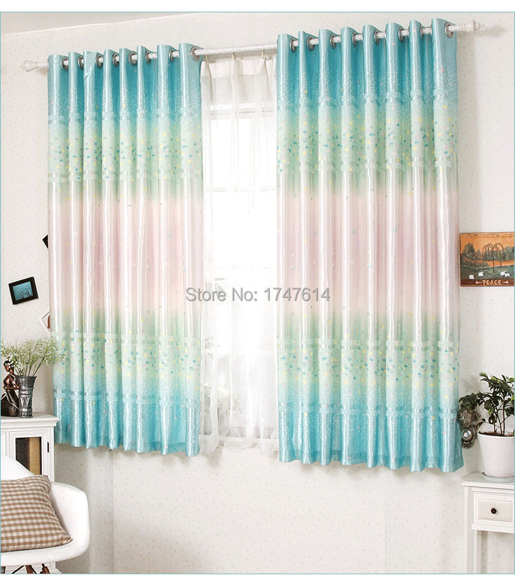 Delicieux Hot Selling Morden Fresh Style 2m Short Curtains Finished Product Semi  Curtains Bay Window Bedroom Half Shading Window Curtains In Curtains From  Home ...