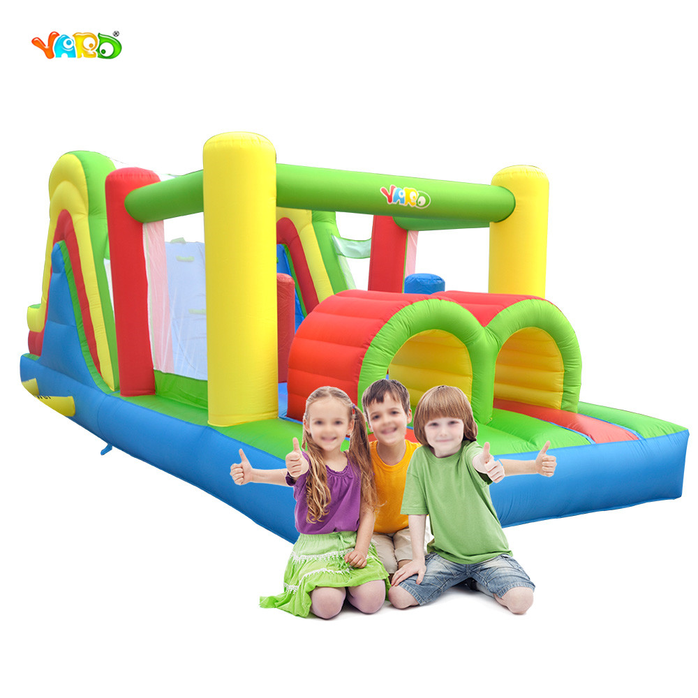 Bounce House Inflatable Obstacle Course Jumping Castle Moonwalk Trampoline For Kids Inflatable Bouncer Bouncy Castle bounce house inflatable toy bouncer dual slide bouncy jumper giant jumping house obstacle combo trampolines