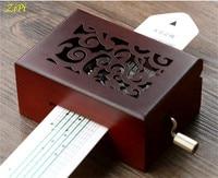 Zipi DIY 15/30 Tones hand shake paper band music music box retro music box wholesale
