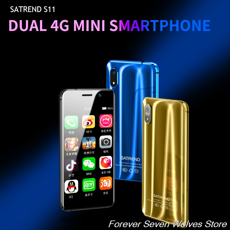 Small 4G Mini Smartphone S11 Android 7.1 CellPhone MTK6739 WiFi Dual SIM 3.2Inch Mobile Phone GPS Bluetooth smartphone