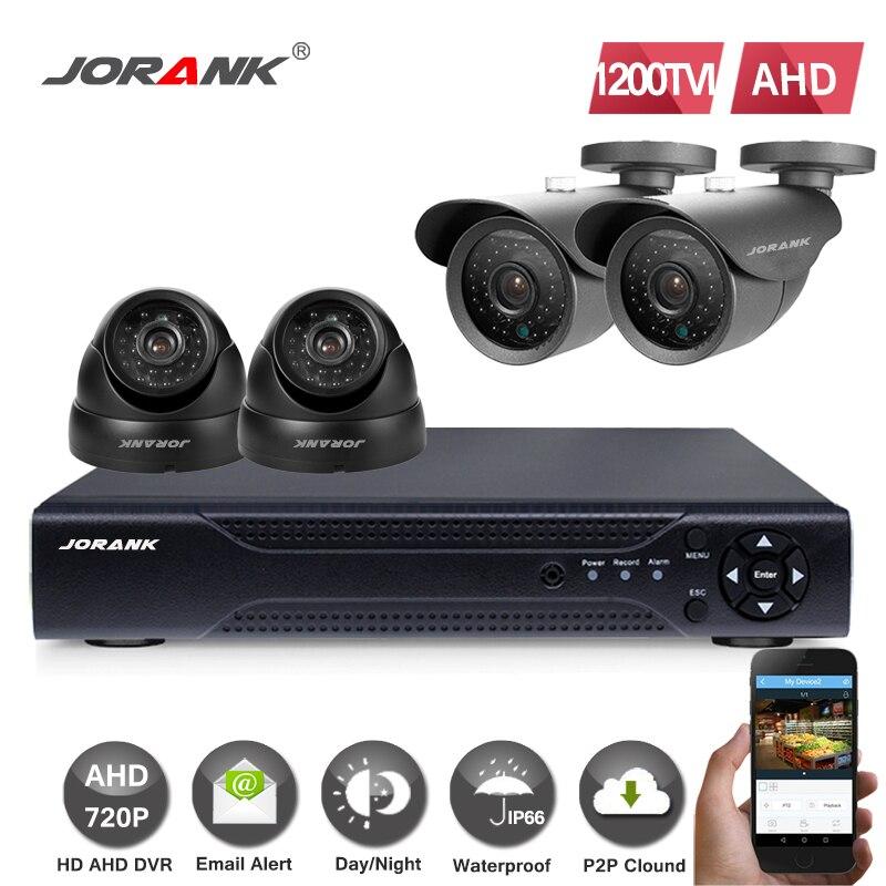 4x 1080P 3000TVL//1200TVL AHD Dome DVR Camera Home Security CCTV Cam Night Vision
