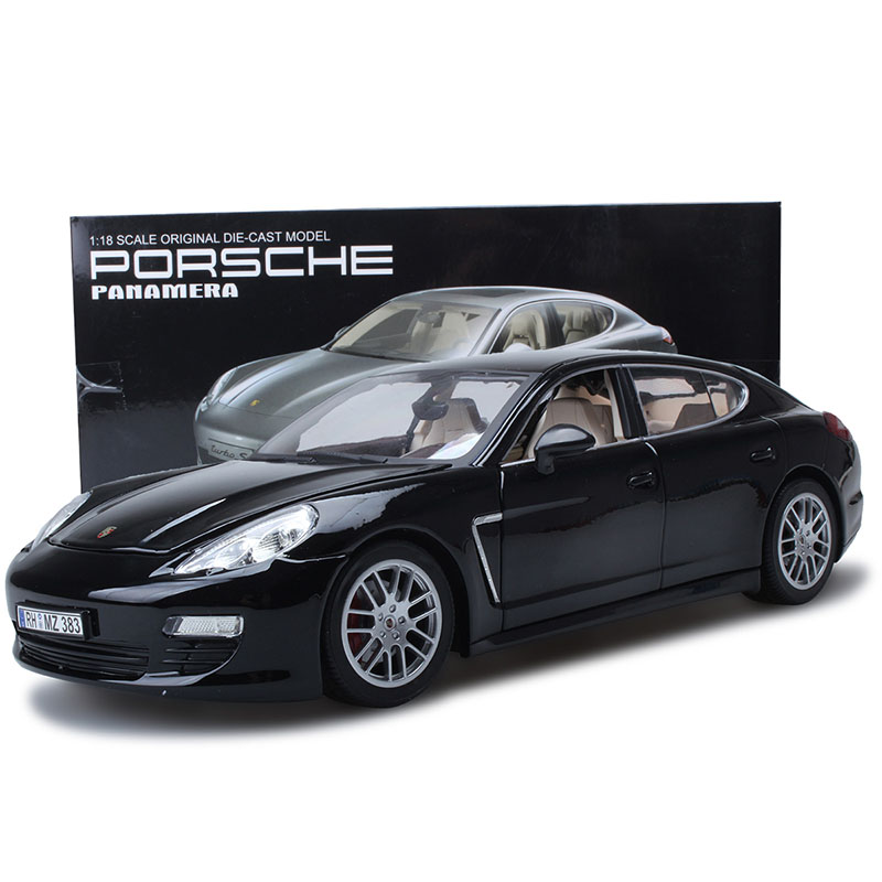 Scale 1:18Alloy Pull Back Toy Vehicles Panamera Sports Car Model Of Children's Toy Cars Original Authorized Authentic Kids Toys