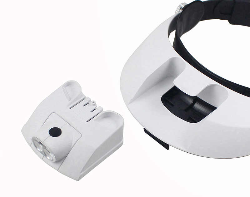 1.0X 1.5X 2.0X 2.5X 3.5X шлем налобный фонарь с увеличителем увеличительное Стекло со светом светодиодный световая головка зубной хирургическая Лупа