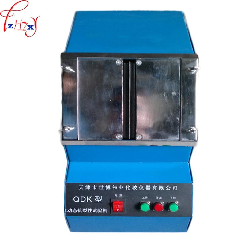 220V 30W 1PC QDK automatic dynamic anti-cracking tester desktop automatic anti-cracking putty test machine