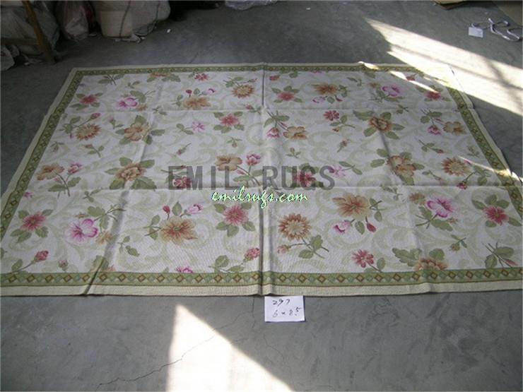 100 Wolle Handgenht Nadel Teppiche Needleopint 180 CM X 258 59 845 Englisch Garten Gc3nee45