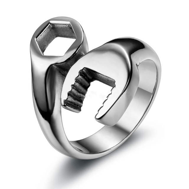 brixini.com - The Stainless Steel Wrench Ring