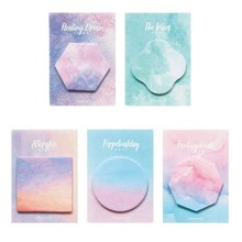 Cute Dream Series Sticky Notes Memo Pad Planner Paper Stickers Kawaii Korean Stationery School Office Supplies(China)