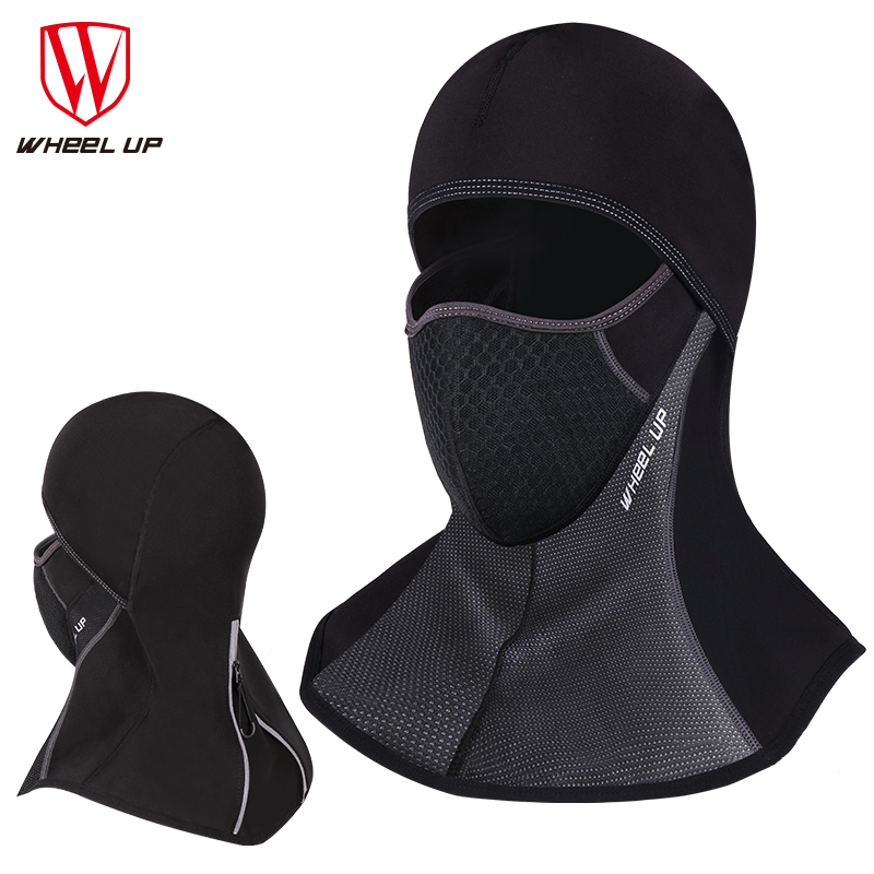 WHEEL UP Bicycle Accessory Winter Fleece MTB Bike Face Masks Collar  Head-scarf Outdoor Sports Bicycle Warm Cycling Equipments 9419d3a02