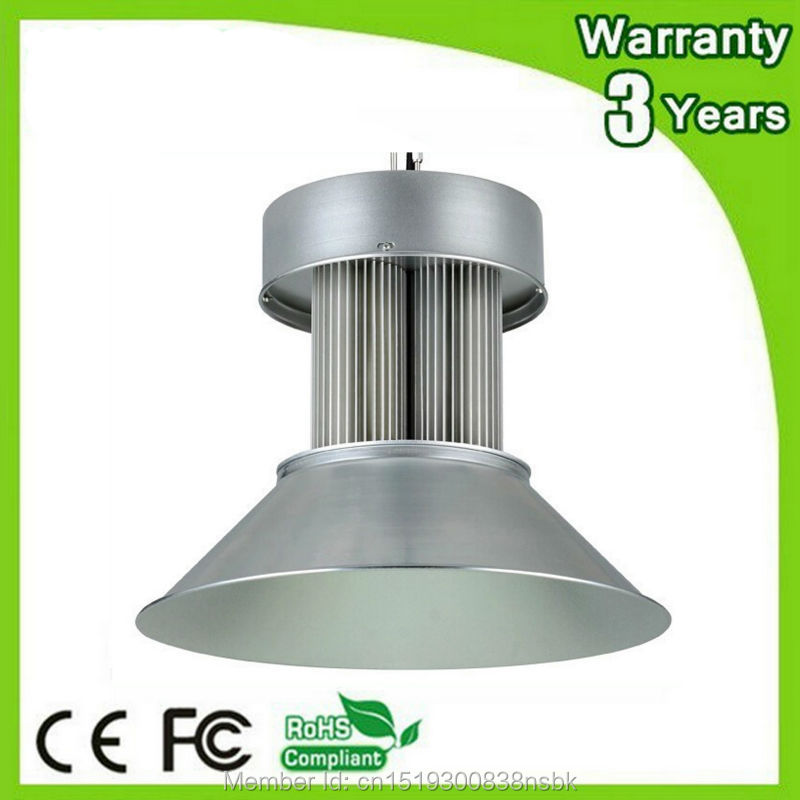 (6PCS/Lot) 85-265V 3 Years Warranty Thick Housing CE RoHS 150W High Bay LED Light Industrial Lamp E40