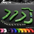 Silicone Radiator Heater Hose Fit For Kawasaki KXF250 KXF 250 2007-2008 Green