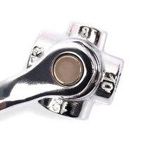 8 in 1 magnetism universal head wrench a set of keys hexagons set socket flexible spanner wrench chrome vanadium hand tool D2006