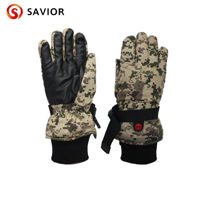 SAVIOR S-03 Winter Heated Glove for skiing,fishing,riding,hunting,outerdoor sports,controlled temperature