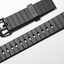 20 мм PU ремешок для часов 20 мм резиновый ремешок Ремешки для наручных часов Замена для samsung gear Timex seiko
