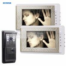 Buy online DIYSECUR 700TVLine HD Video Door Phone Doorbell 7 inch LCD Video Intercom LED Night Vision Door Camera Of Home Entry Intercom