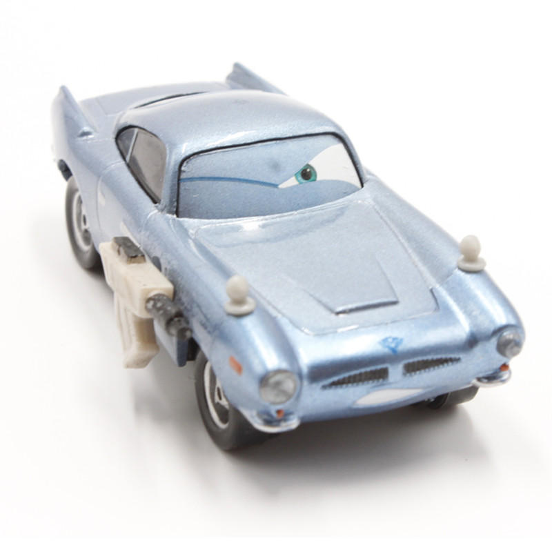 Cars 2 Spy Attack Finn Mcmissile: Disney Pixar Cars 2 Finn Mcmissile With Gun 1:55 Scale