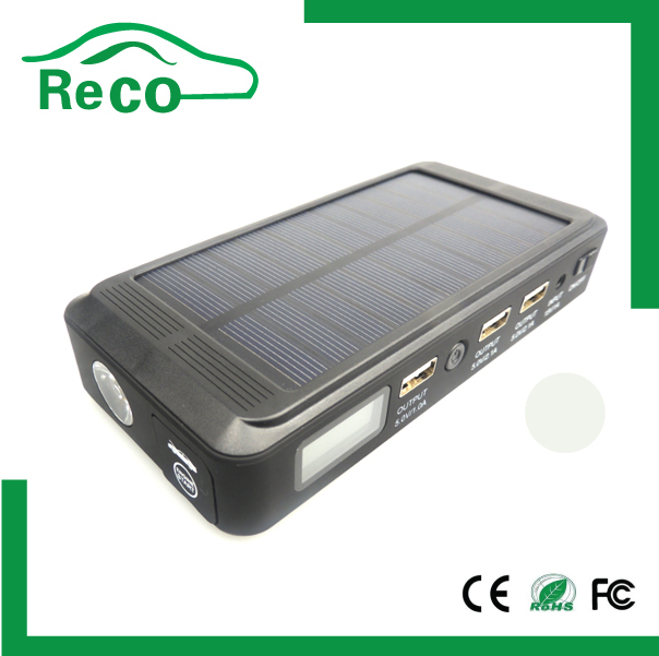 car styling 14000m 12v solar jump starter, car accessories portable ...