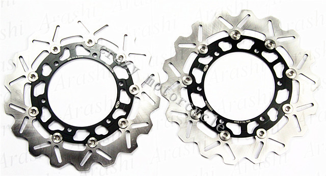 Free shipping moto Front Brake Rotor Disc For YAMAHA WR250X 08 XJ600N 98-03 YZF R6 R600 THUNDERCAT 96-02 TZF R6 R600 03-07 keoghs real adelin 260mm floating brake disc high quality for yamaha scooter cygnus modify