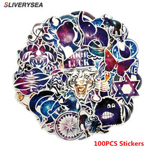 Car Stickers Laptop Decals Starry Sky Sticker Motorcycle Bicycle Luggage Helmet Graffiti Patches Skateboard Stickers 100Pcs/Set