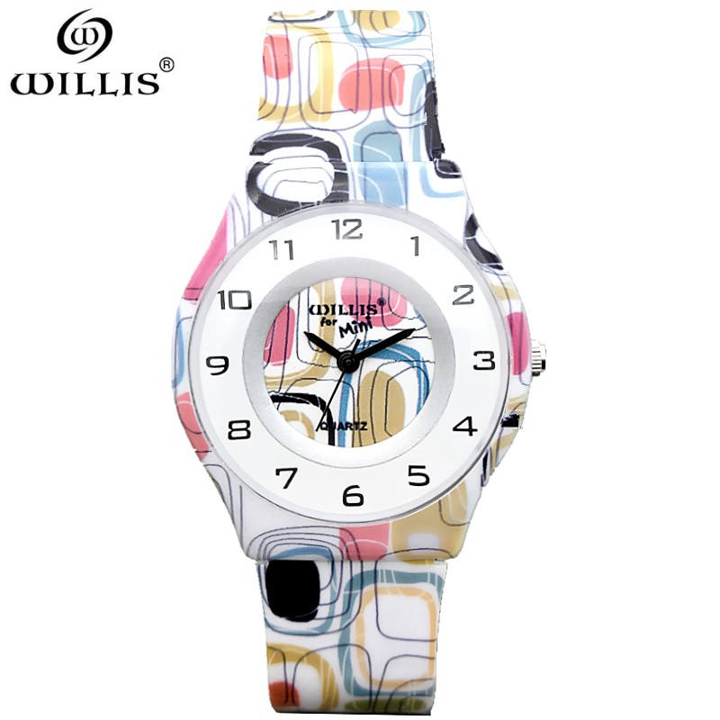 WILLIS Top Brand Women Watch Ultra Thin Silicone strap Analog Display Quartz watch Luxury waterproof Wristwatch Relogio Feminino brand julius women watches ultra thin leather strap watch band analog display quartz wristwatch luxury watches relogio feminino