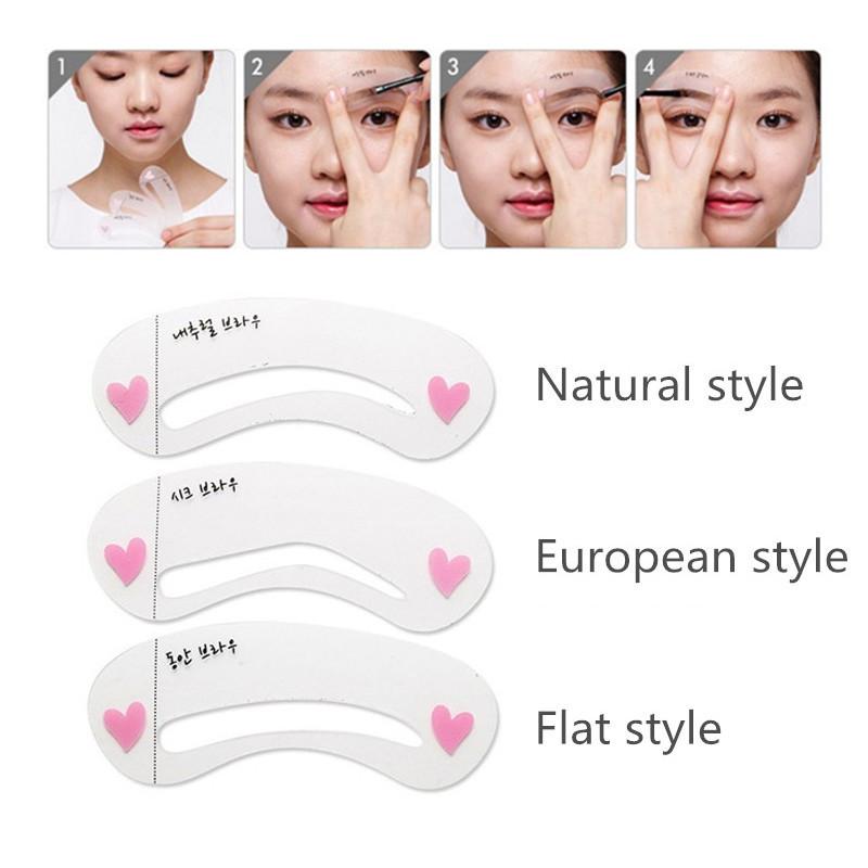 Korean Eye Brow Makeup 1pcs 3d Peel Off Eyebrow Gel 1 Set Eyebrow