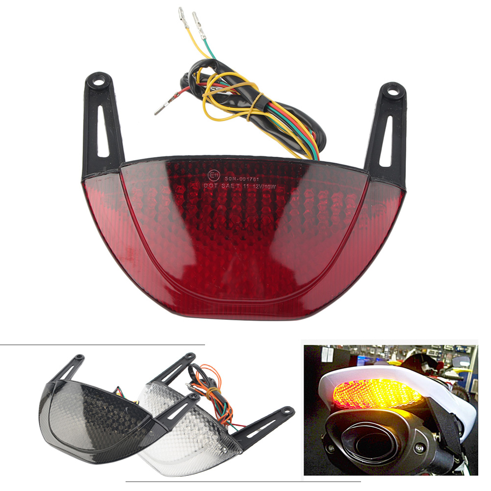 CBR600RR Motorcycle Integrated Taillight Turn Signal Light For Honda CBR 600RR 2007 2008 2009 2010 2011 2012 Black White Red