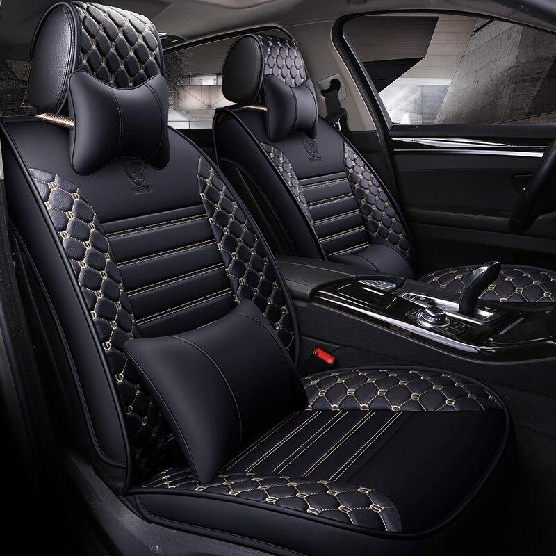 Сиденья автомобильных сидений чехлы для VW Polo 6R 9n седан Sagitar Сантана Tiguan TOUAREG 2017 2013 2012 2011
