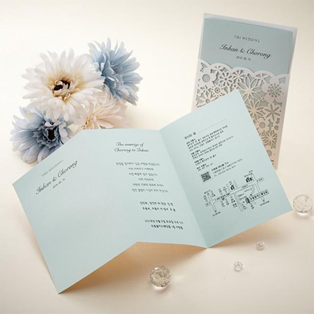 online shop new style 1pcs 6 color insert cards elegant wedding