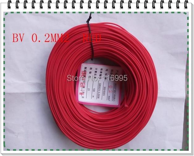 Freies verschiffen 10 meter einzelstrang/linie/single core/0,2 platz ...