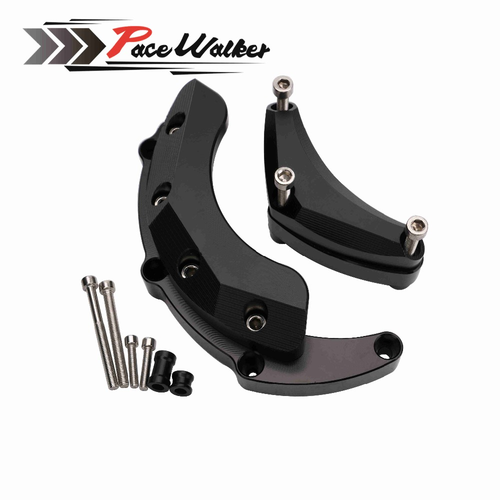 FREE SHIPPING Motorcycle Engine Stator Crash Pad Slider Protector For Yamaha MT-09 FZ-09 FJ-09 MT09 FZ09 FJ09 2014 2015 2016 engine bumper guard crash bars protector steel for yamaha mt09 mt 09 fz07 fz 09 2014 2016 2014 2015 2016 motorcycle