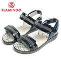 FLAMINGO 2016 nueva llegada del verano los niños zapatos de moda de alta calidad de 100% cuero genuino sandalias de los niños para la muchacha QS5722