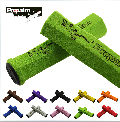 Super Light Propalm Sponge Soft Bicycle Grips Sets for MTB bicycle Folding Bike Handlebar Anti-Skid bicycle accessories(China)