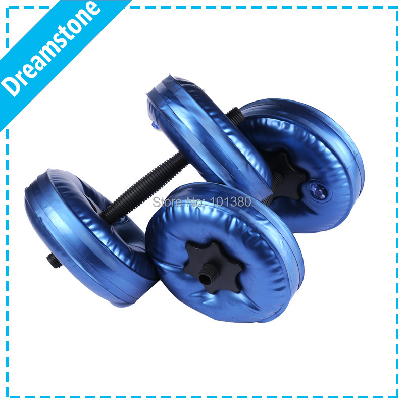 Hot Selling High Quality Water Filled Dumbbell Weights For Fitness Arm Slimming Equipments 10kg fitness