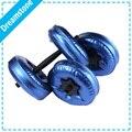 Venda quente de Alta Qualidade Cheios de Água Halteres Pesos Para Braço Emagrecimento Equipamentos de Fitness 10 kg de fitness