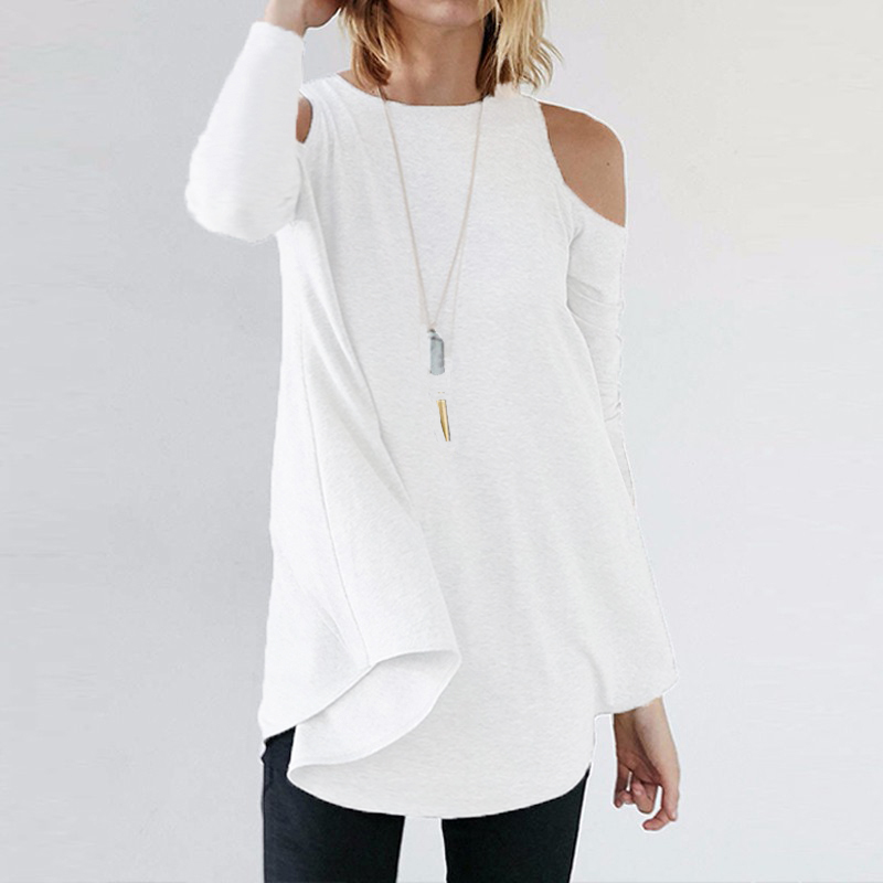 9434d7f61747aa Cold Shoulder Long Sleeve Sexy Tunic – London+Rae