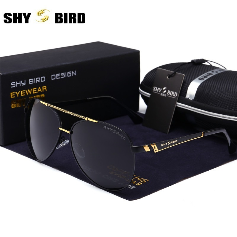 New listing SHYBIRD pilot brand retro men sunglasses mens / womens sunglasses fashion gl ...