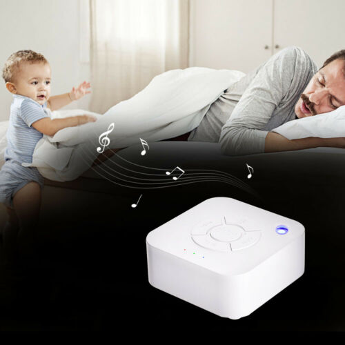 Sound Machine White Noise Generator Spa Easy Sleep Baby Rain Relax Therapy Kids